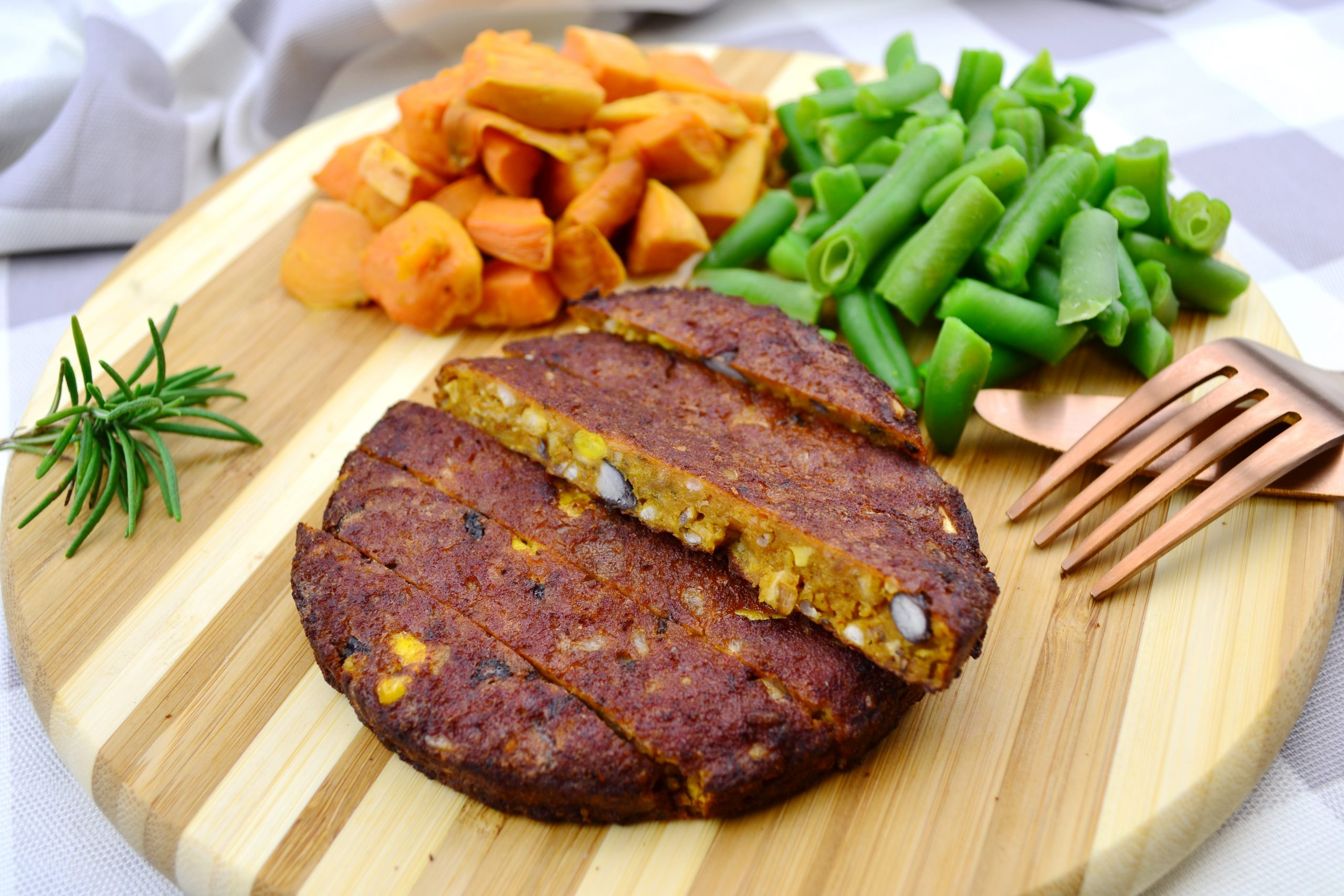 Vegetable Protein Patty 8oz
